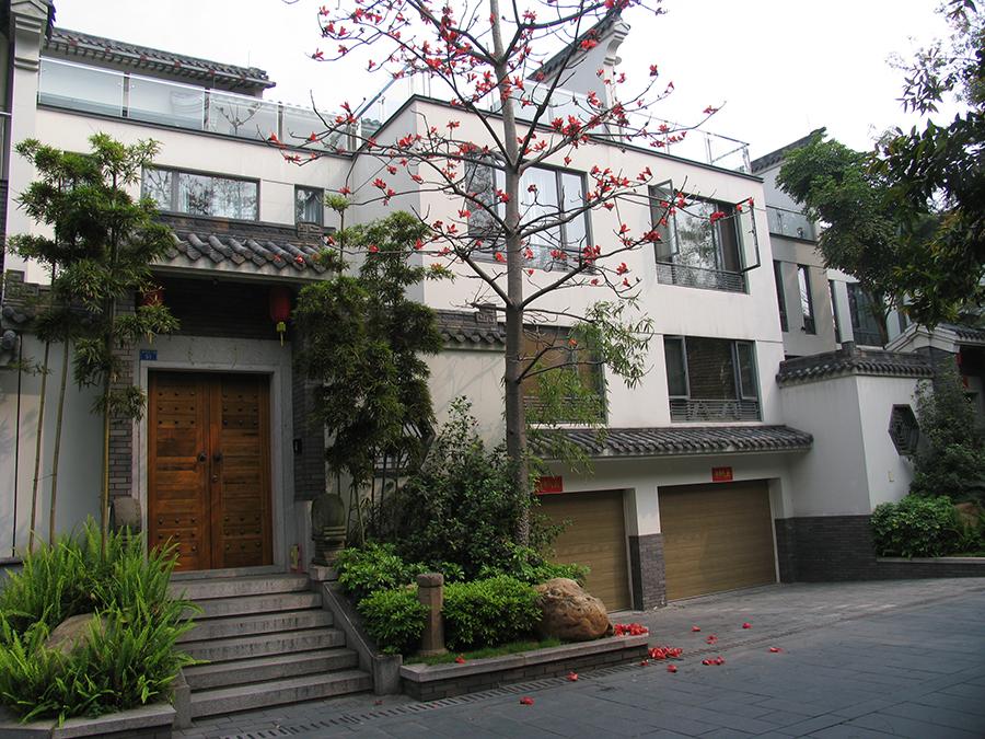 清华坊新中式别墅